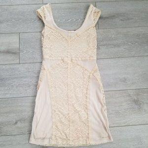 Divided Lace Bondage Dress